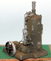 Vertical Boiler with valves and steam water pump - Unpainted - Langley F291