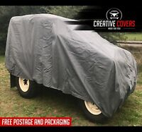 LAND ROVER 1-3 SWB OUTDOOR COVER WATERPROOF CANVAS PROTECTIVE TARP/TARPAULIN NEW