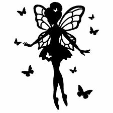 Vinyl Ballerina Fairy /Decal/ Sticker/Wall/Laptop/Tablet /Car Decal