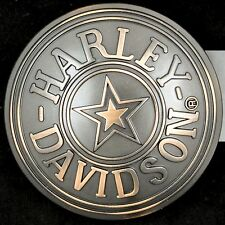 Harley Davidson Motorcycle Fatboy Circle Star Military Belt Buckle  NOS NWT New