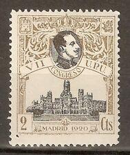 1920 CONGRESO DE LA UPU EDIFIL 298** SIN FIJASELLOS