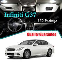 For 16-Up Infiniti Q50 Interior LED Xenon Light Bulb 5050 Full Package Kit 11PC