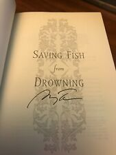 AMY TAN-SAVING FISH FROM DROWNING-SIGNED 1ST