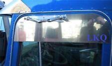 """PETERBILT STAINLESS STEEL 8"""" CHOP TOP DOOR TRIM RAIN GUARD 1989 TO 2004 P-1399"""
