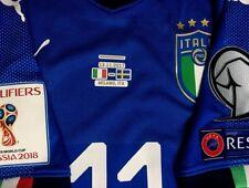 ITALIA maglia IMMOBILE LAZIO match worn shirt SWEDEN FIFA maillot porté UEFA
