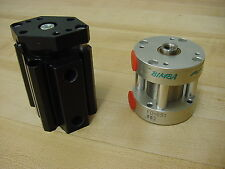 Lot of 2 Numatic Cylinders Bimba Flat Series and Made in Sweeden  model  270-053