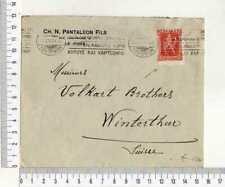 A8808) Grèce Cover 28.1.1924 Les Marmara Winterthur - Stamp