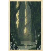 Princess Mononoke Ghibli Cartoon Silk Poster Print 13x20 24x36 inch 003