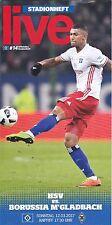 HSV-Stadionheft Nr.14 zum Heimspiel gegen Gladbach vom 12.3.2017