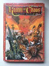 Games Workshop WARHAMMER 1988 REGNO DEL CAOS SCHIAVI per Oscurità BOOK #02