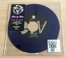 "Pantera/poison Idea - The Badge  7"" Blue Vinyl"