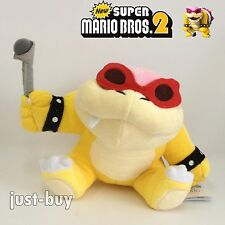 New Super Mario Bros. 2 Plush Roy Koopa Soft Toy Stuffed Animal Doll Teddy 6.5""