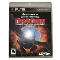 How to Train Your Dragon Sony PlayStation 3 Game 2010 Complete CIB Activision E