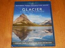 NATIONAL PARKS EXPLORATION SERIES GLACIER CROWN OF THE CONTINENT BLU-RAY NEW
