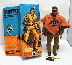 Vintage Marx Toys 7401 Lone Ranger Tonto - Boxed - (3126)