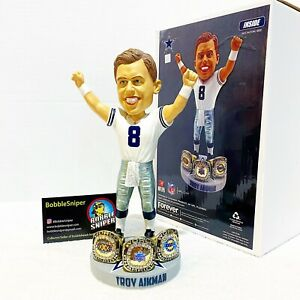 TROY AIKMAN Dallas Cowboys 3X Super Bowl Champion Special Ed NFL Bobblehead