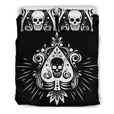 Skull Tattoo Signature Concept Bedding Set Covers 3D All Over Print Full Size