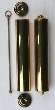 1 pr Brass weight shells 260 x 50mm