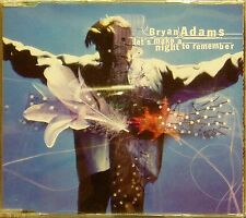 BRYAN ADAMS 'LET'S MAKE A NIGHT TO REMEMBER' 4-TRACK CD SINGLE