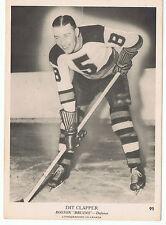 1939-40 O-Pee-Chee V301-1 Dit Clapper # 95 Boston Bruins ( 5 x 7 card) Nice Card