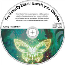 THE BUTTERFLY EFFECT   Elevate your Vibration   Positive Aura Cleanse   Audio CD