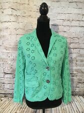 Life Style Women Teal Jacket Blazor, Stein Mart. Size: Small. New With Tags