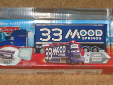 MOOD SPRINGS HAULER 33 - ORIGINAL 2009 Disney Pixar Cars - RARE! OOP! NEW! # 14