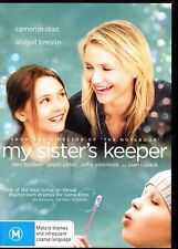 MY SISTER'S KEEPER - DVD R4 (2009) Cameron Diaz - LIKE NEW - FREE POST