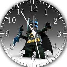 "Lego Batman wall Clock 10"" will be nice Gift and Room wall Decor Y29"