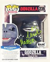MILLIE BOBBY BROWN  SIGNED GODZILLA FUNKO POP MADISON BAS COA 581