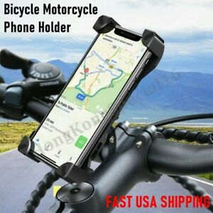 CELL PHONE MOUNT HOLDER Universal Adjustable Motorcycle Bike Bicycle Handlebar
