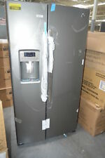 "Ge Gss25Gmhes 36"" Slate Side-by-Side Refrigerator Nob #27655 Hrt"