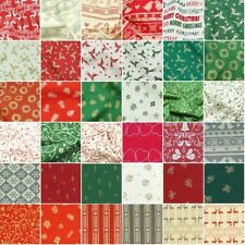 100% Cotton Fabric John Louden Scandinavian Christmas Collection Festive Xmas
