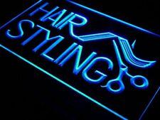 "16""x12"" i517-b Hair Styling Salon Cut Shop NEW Neon Sign"