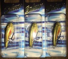 "SEC lot of 3 Salmo Chubby Darter #4,  1-5/6"", 3/16 sinking color rainbow dace"