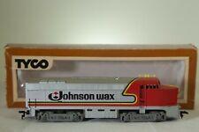 Tyco HO Scale Train Engine Johnson Wax Locomotive - Vintage Tyco HO Locomotive