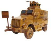Navistar International Maxx Pro MaxxPro MRAP IED Truck Army Wood Wooden Model
