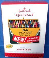 2013 Big Box of 64 Crayola Crayons Hallmark Ornament