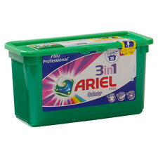 Ariel 3 in 1 Pods Colour Laundry Washing Liquid Gel Capsules Detergent Pack 35