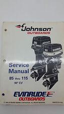 Johnson Outboard Marine 85 - 115 Service Manual