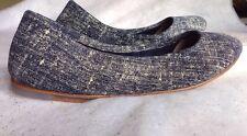 BLOCH Shoes Size: 10.5 US, EU 40.5 NEW Soft Leather Ballet Flats Туфли Кожа