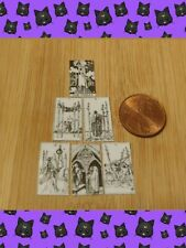 Dollhouse Miniature Tarot Reading Cards Halloween Display on Sale Today $2.50