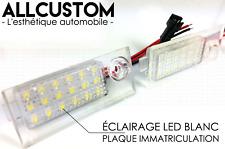 LED LUZ LUCES PLACA MATRICULA BLANCO POTENTE para AUDI A6 C5 97-04 SLINE QUATTRO