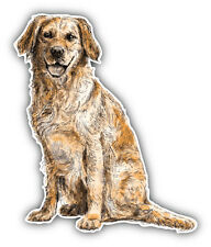 Labrador Retriever Sketch Car Bumper Sticker Decal 4' x 5'