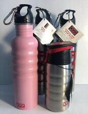 Oggi Stainless Steel Sport Bottle Lot Of 4 Different Style/Designs Sport Bottles
