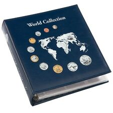 LIGHTHOUSE coin album NUMIS, World Collection with 5 sheets, collector 324055