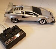 Vintage 1980's Toy State Industrial Vintage Lamborghini RC Remote Control