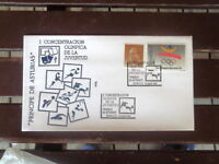 SPANISH ESPANA OLYMPIC COVER & FOOTBALL POSTMARK  STAMP  1991