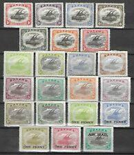 PAPUA 1907-1930 Mint Hinged Lot on Card Unchecked High CV