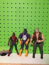 Hasbro Marvel Legends Lot Duke Tigershark Spider-Man Action Figure Loose